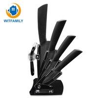 Kitchen Knife Ceramic Knives Accessories Set 3 Paring 4 Utility 5 Slicing 6 Chef Knife Holder