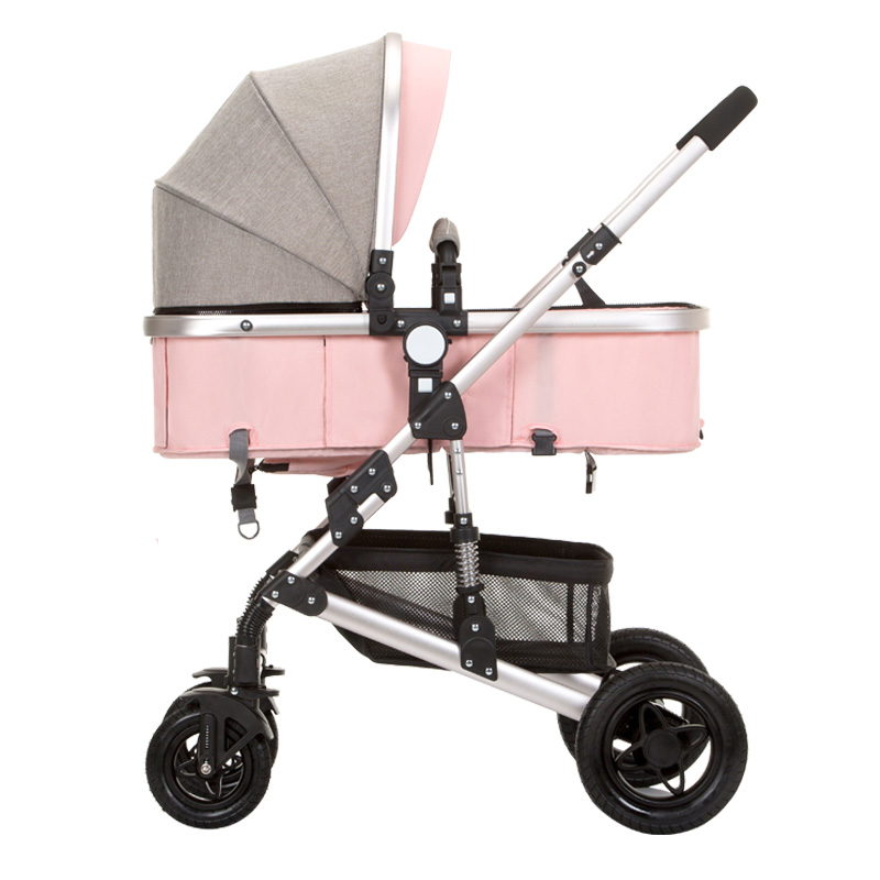 anershi 2018 new stroller high landscape can sit or lie on  wheel portable baby carts baby stroller Free shipping  1