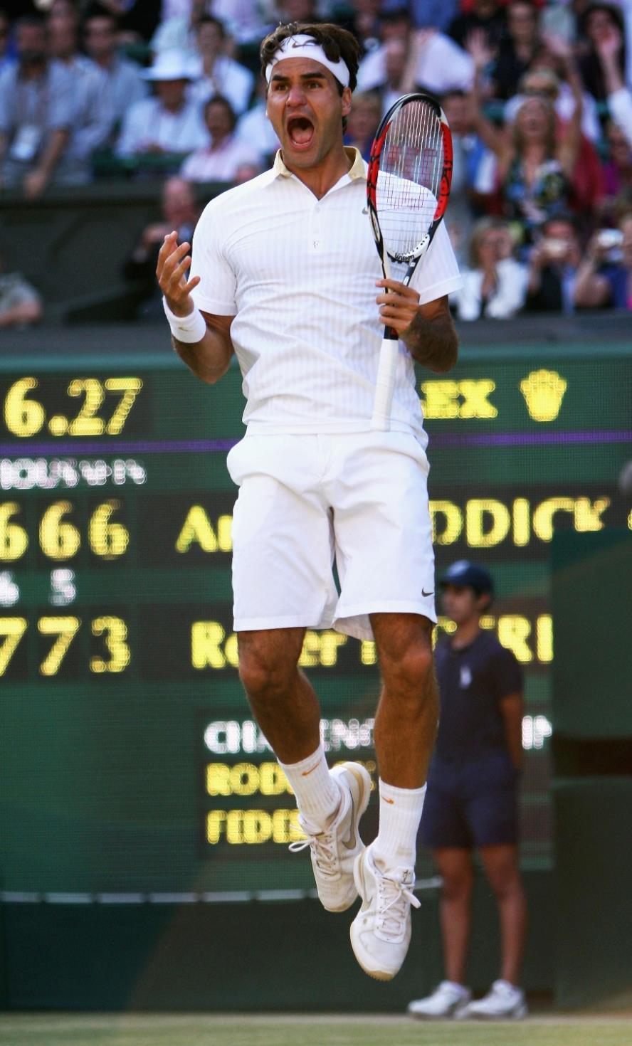Roger Federer Tennis stern Aquarell inkjet Stoff poster 40