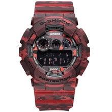 Casio watch large dial waterproof shockproof fashion sports electronic waterproof men s watch GD 120CM 4D