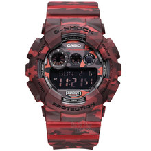Casio watch large dial waterproof shockproof fashion sports electronic waterproof men's watch GD-120CM-4D GD-120CM-5D GD-120CM-8