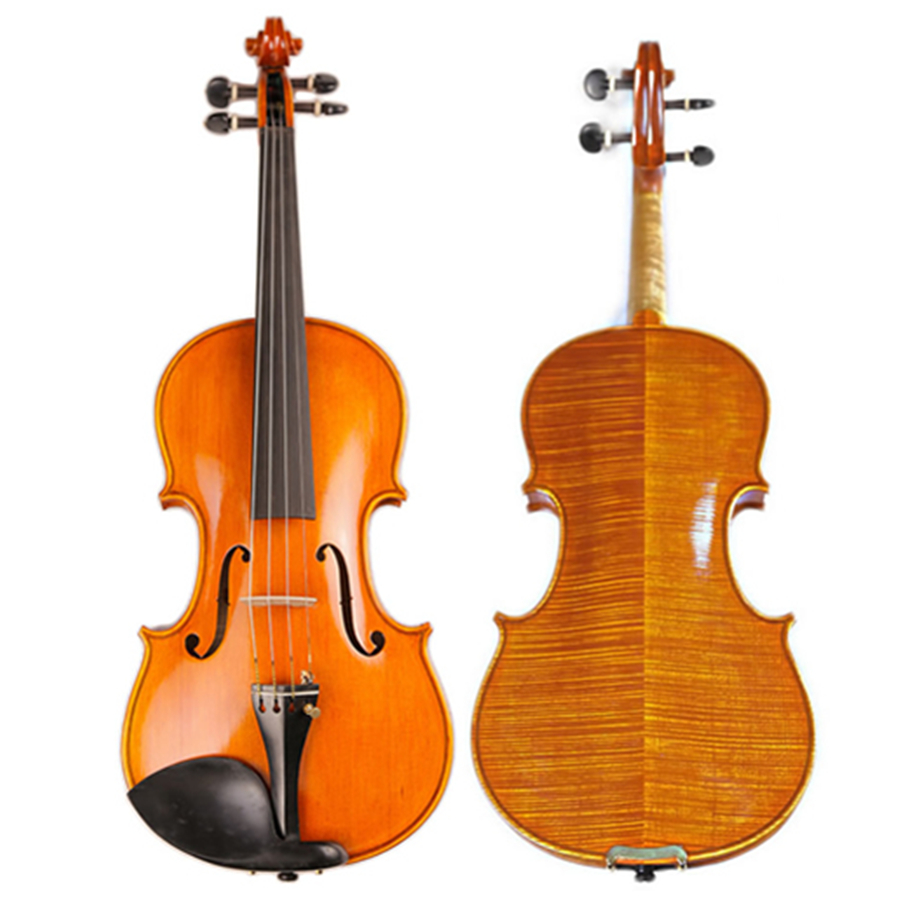 Famous Master Hand-made Violin Europe Stripes Maple Customized Antique Professional Violino TONGLING Brand image