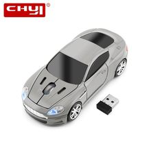 USB Optical Wireless Mouse Mause 2.4G USB Receiver Super Sports Car Gaming Mouse Gamer for PC Laptop Computer Mice Free Shipping(China)