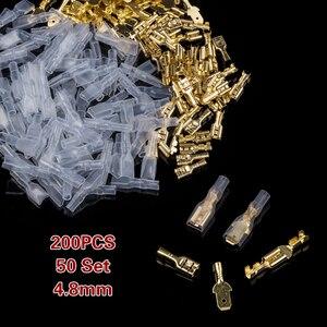 200PCS 2.8/4.8/6.3mm Female Ma