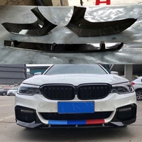 5 Series Carbon Fiber Front Bumper Lip Splitters Rear Diffuser Body Kits for BMW G30 G31 G38 M Tech M Sport 2017 2018 MP Style