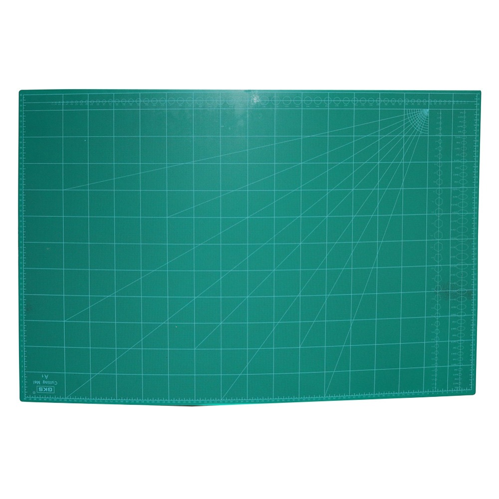 1 Pcs Maximum A1 Cutting Mat 60*90cm White Core Arbitrary Cutting No Deformation No Damage Net Weight  2.52kg Roll Packaging