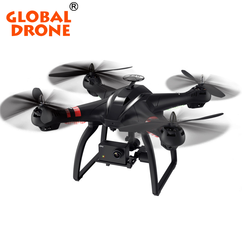 Global Drone RC Quadcopter Drone GPS Follower Professional Brushless Motor FPV Remote Control Drone RTF Drone With HD Camera GPS big s900 shaft rotor professional hd remote control helicopter