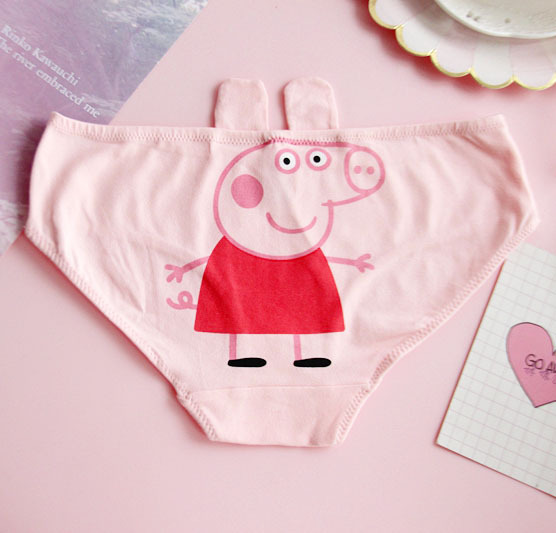 Animation Cute Pink Pig Cotton Underwear 2