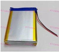 10000mAh Large Capacity 3 7V Polymer Lithium Battery Mobile Power Charging Treasure Core 126090 Rechargeable Li