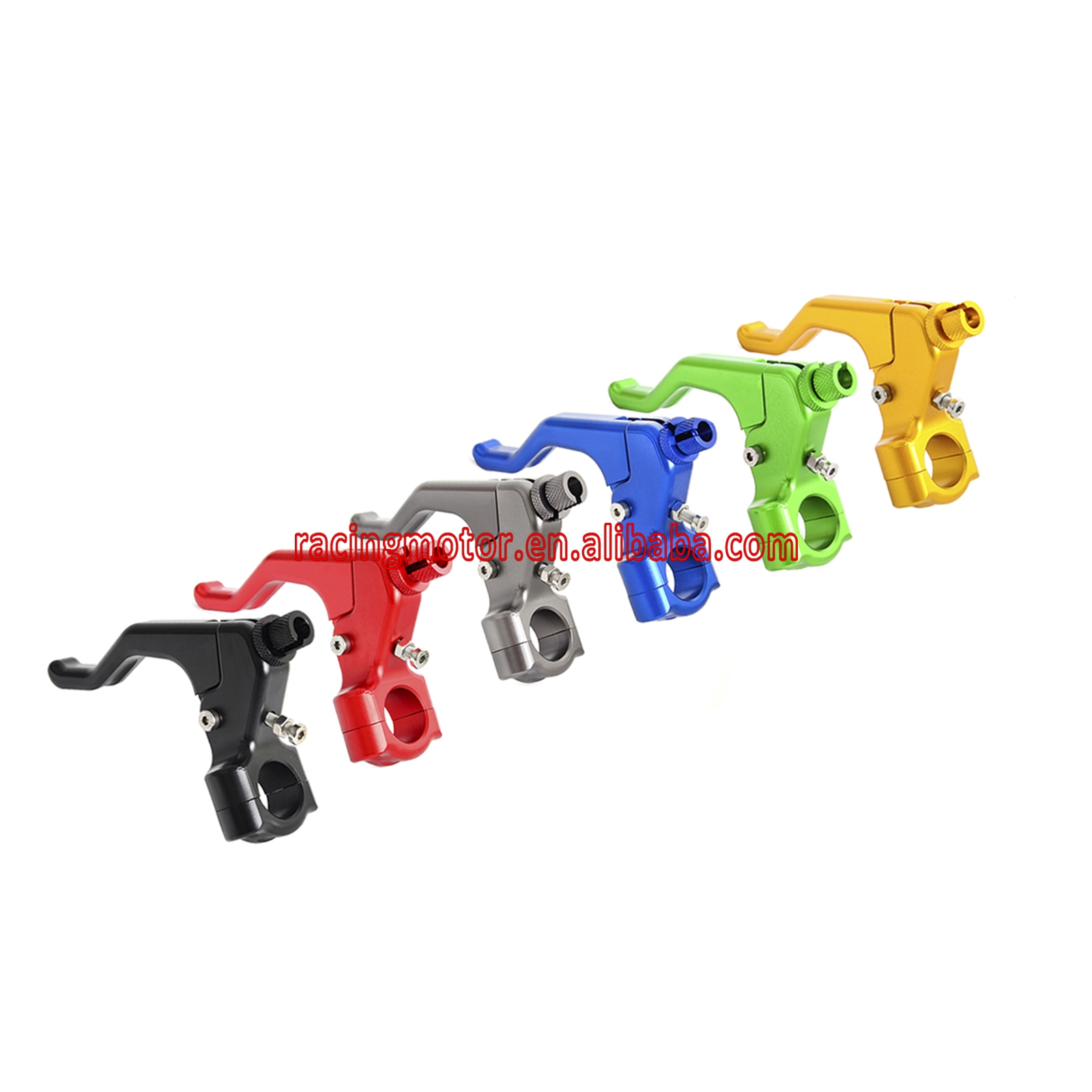 22MM 7/8 Handlebar CNC Short Stunt Clutch Lever Perch Assembly For Honda Suzuki Yamaha Kawasaki Triumph motocross mx dirt bike 22mm 7 8 handlebar cnc short stunt clutch lever perch assembly 6 color options
