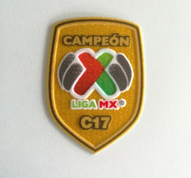 Liga Mx C17 Soccer Patch Sleeve Badge Mexico Hq Parche For Tiger Patch New Liga Mx