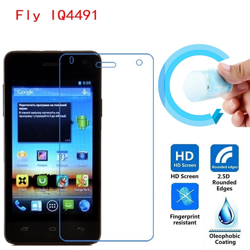 Fly IQ4491 Screen Protective Film, Ultra-Thin HD Clear Soft Pet Screen Protector Film for Fly IQ4491 ERA Life 3 Free Shipping