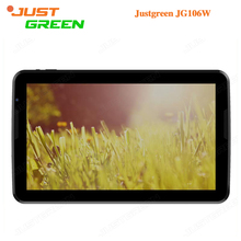 Justgreen JG106W 10.6 pulgadas 1366*768 PAD Android 5.0 A33 ARM Cortex-A7 Quad-Core 1 GB RAM 16 GB ROM 2MP Cámara BT4.0 OTG Tablet PC