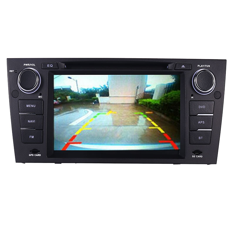 """Image 3 - Capacitive 7""""Touch Screen car gps navigation for bmw e90 E91 E92 GPS 3G Bluetooth Radio USB SD Steering wheel Free map Camera-in Car Multimedia Player from Automobiles & Motorcycles"""