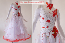 Ballroom Waltz Dance Dress Lady High Quality Custom Made Tango Flamenco Modren Ballroom Competition Dance Dresses
