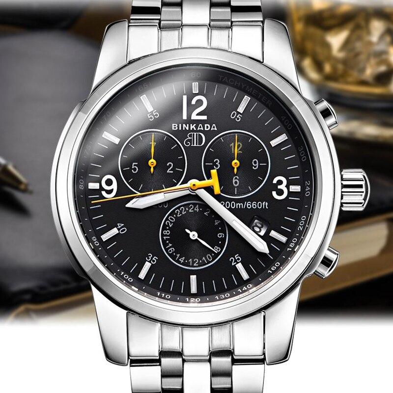 Reloj mecánico automático de los hombres de negocios informal 2018 - Relojes para hombres - foto 5