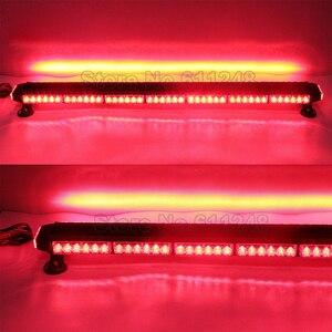 """Image 4 - 44 """"Bốn Mặt 90LED 12V An Ninh Khẩn Cấp Cảnh Báo Đèn Flash Ánh Sáng Nhấp Nháy Lính Cứu Hỏa Máy Kéo Nông Nghiệp AVT Offroad Đèn LED thanh"""