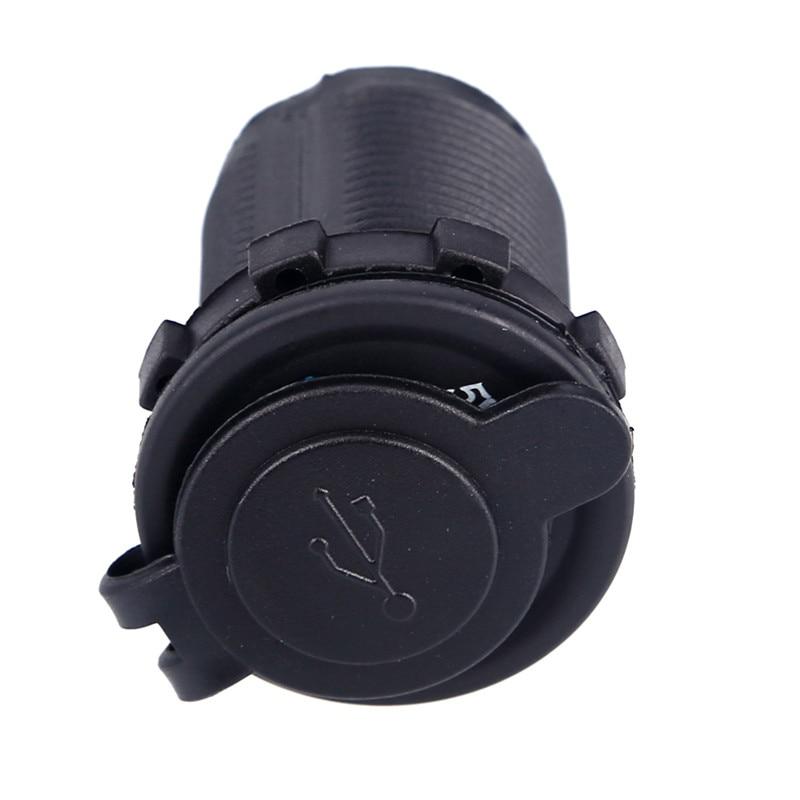 Universal Dual LED Billaddare Adapter Laddare Socket Vattentät Dual - Reservdelar och tillbehör för mobiltelefoner - Foto 4