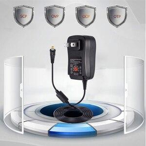 Image 5 - 30W US/UK/AU/EU Universal Power Adapter 3V 4.5V 5V 6V 7.5V 9V 12V AC DC Charger Converter + 5V 2.1A USB Port With 8Pcs jack