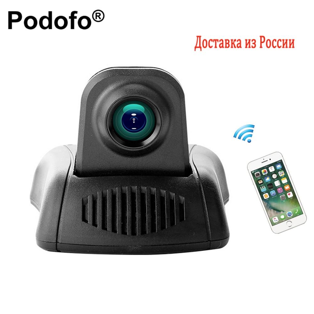 Podofo Novatek Car DVR Camera Wifi Camcorder Full HD Video Registrator Parking Recorder G sensor DashCam