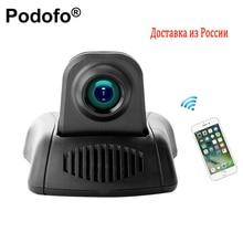 Podofo Новатэк Видеорегистраторы для автомобилей Камера Wi-Fi Видеокамеры Full HD видео регистратор парковка Регистраторы g-сенсор dashcam Ночное видение видеорегистраторы