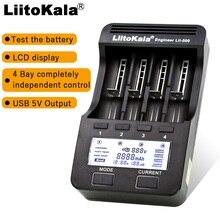 Умное устройство для зарядки никель-металлогидридных аккумуляторов от компании Liitokala: Lii-500/Lii402/Lii-202/Lii-100/1,2 V/3,7 V 18650/26650/18350/16340/18500/зарядное устройство для никель-кадмиевых или никель-металл-AAA зарядное устройство для никель-металл-гидридных и литиевых аккумуляторов зарядное устройство 5V 2A штепсельной вилки