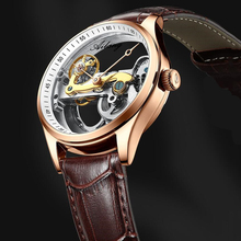 Watch Men Brand Mechanical Watch Leather