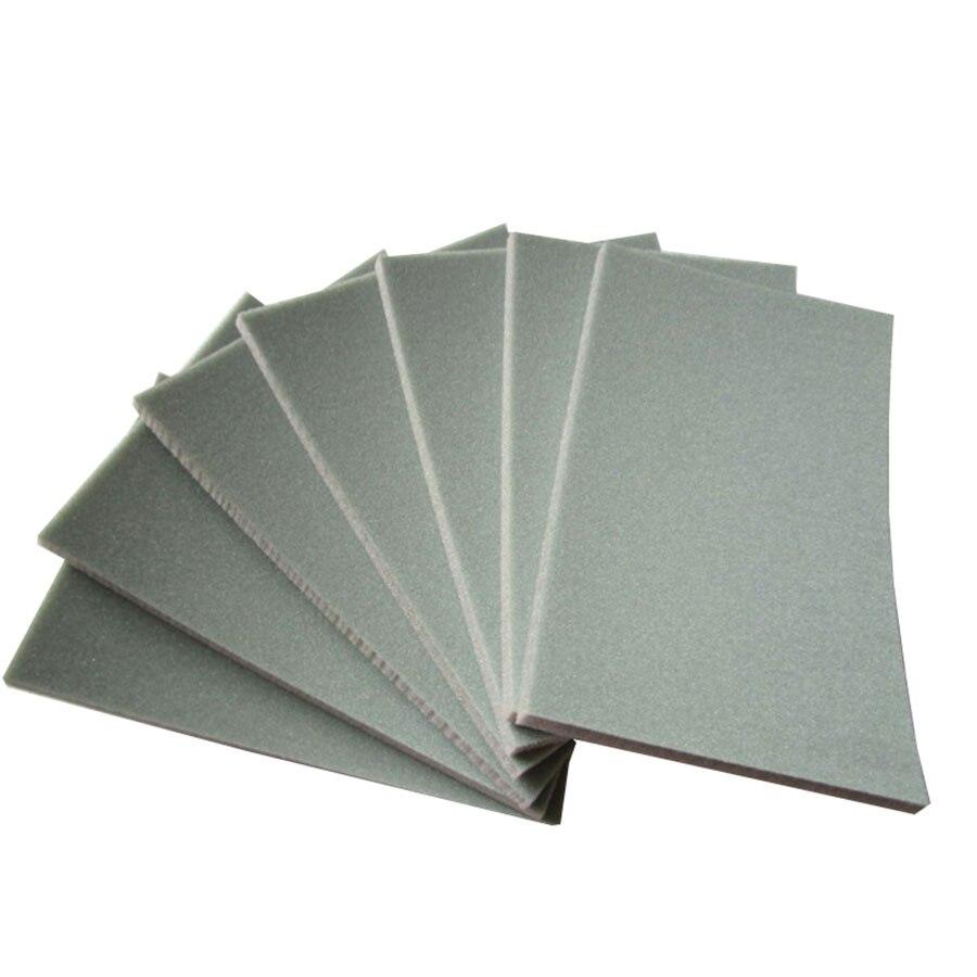 2-20Pcs 70x110mm Square Sponge Sandpaper 300-3000 Grit Fine Polishing Sanding Paper Abrasive Tools High Quality Sandpaper Block
