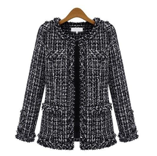 Black Fitted Jacket Ladies Promotion-Shop for Promotional Black ...
