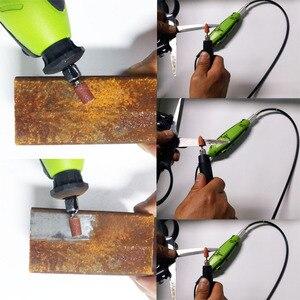 Image 3 - Электрическая мини ДРЕЛЬ Dremel, инструменты, гравер для сверления, шлифовки, заточки, резки, гравировки, очистки, полировки, шлифовки