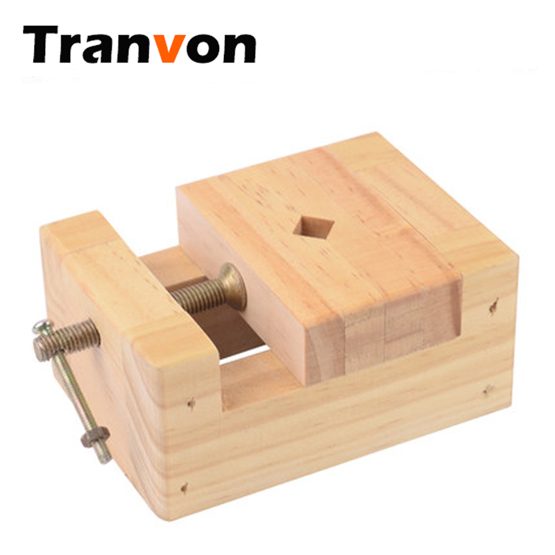87mm 56mm 118mm Quality Wooden Bench Vise Portable Handy