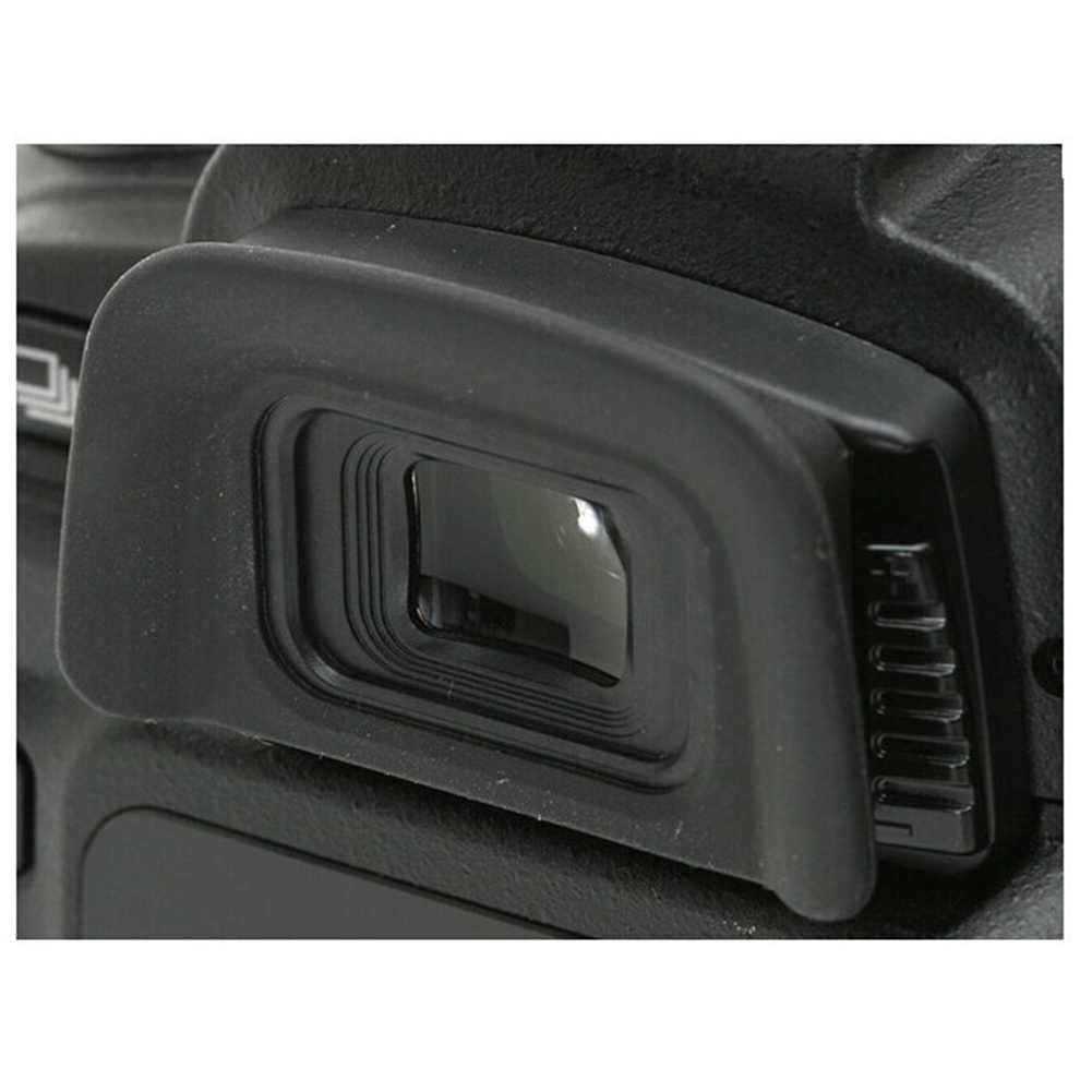 DK-20 gumowe czarne muszla oczna okularu wizjera dla aparat nikon DSLR D50 D60 D70 D70S D3000 D3100 D5100