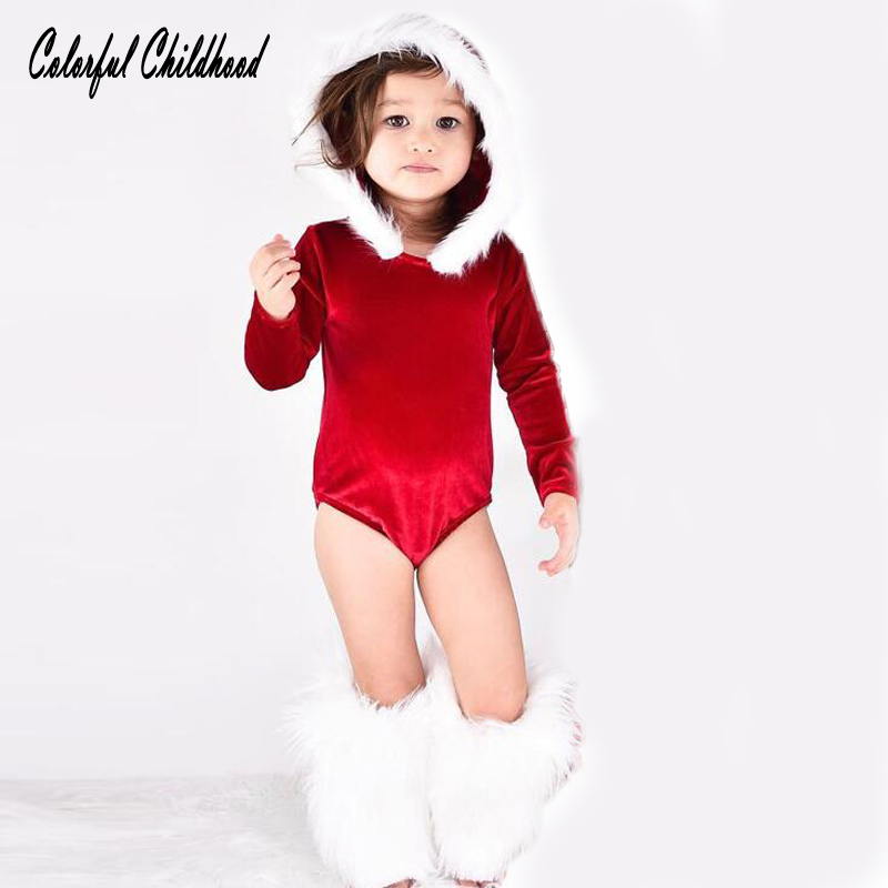 5ce93f00e2acb Buy Christmas baby rompers Spring Autumn girls overalls winter baby ...