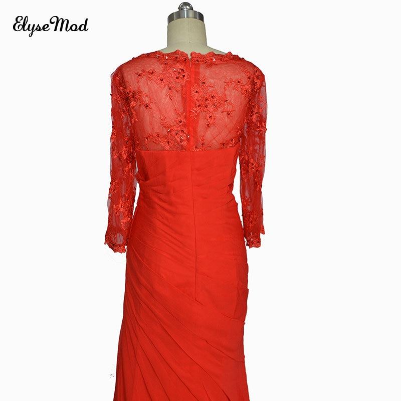 New Fashion Long Sleeves Mermaid Prom Dress Women Women's Clothings Women's Dresses