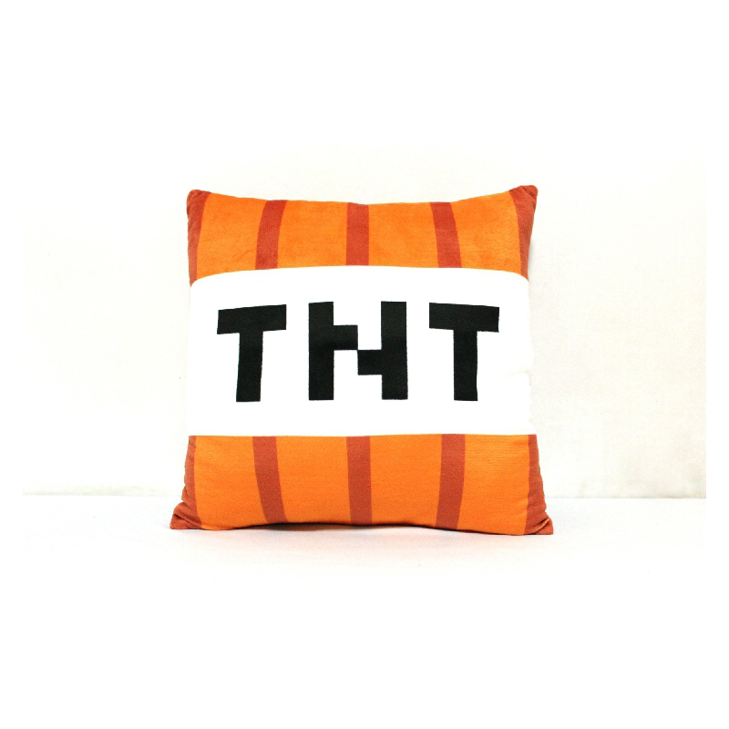 Nueva Minecraft TNT Plush Pillow 40cm Minecraft TNT Peluches Muñeca - Peluches y felpa