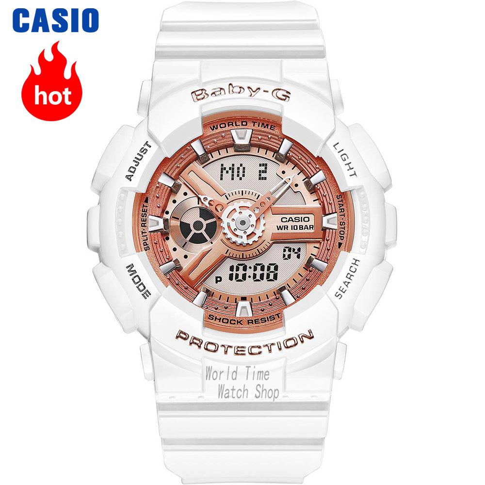 Casio watch Fashion sports waterproof double display electronic watch BA-110-1A BA-110-7A1 BA-110-7A3 BA-110CA-2A BA-110CA-4A ampeg ba 108v2
