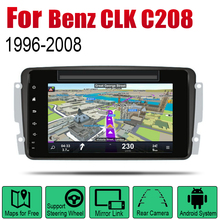 Car DVD Player For Mercedes Benz CLK C208 W208 1996~2008 NTG IPS LCD Screen GPS Navigation Android System Radio Video Stereo for ntg4 0 ntg 4 5 ntg 4 7 ntg 5s1 tv free video in motion