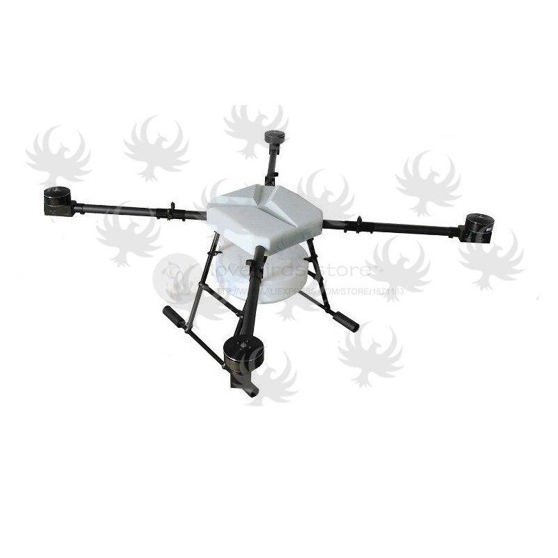 DIY JMR X1380 10L pulverización agrícola quadcopter drone 1380mm ...