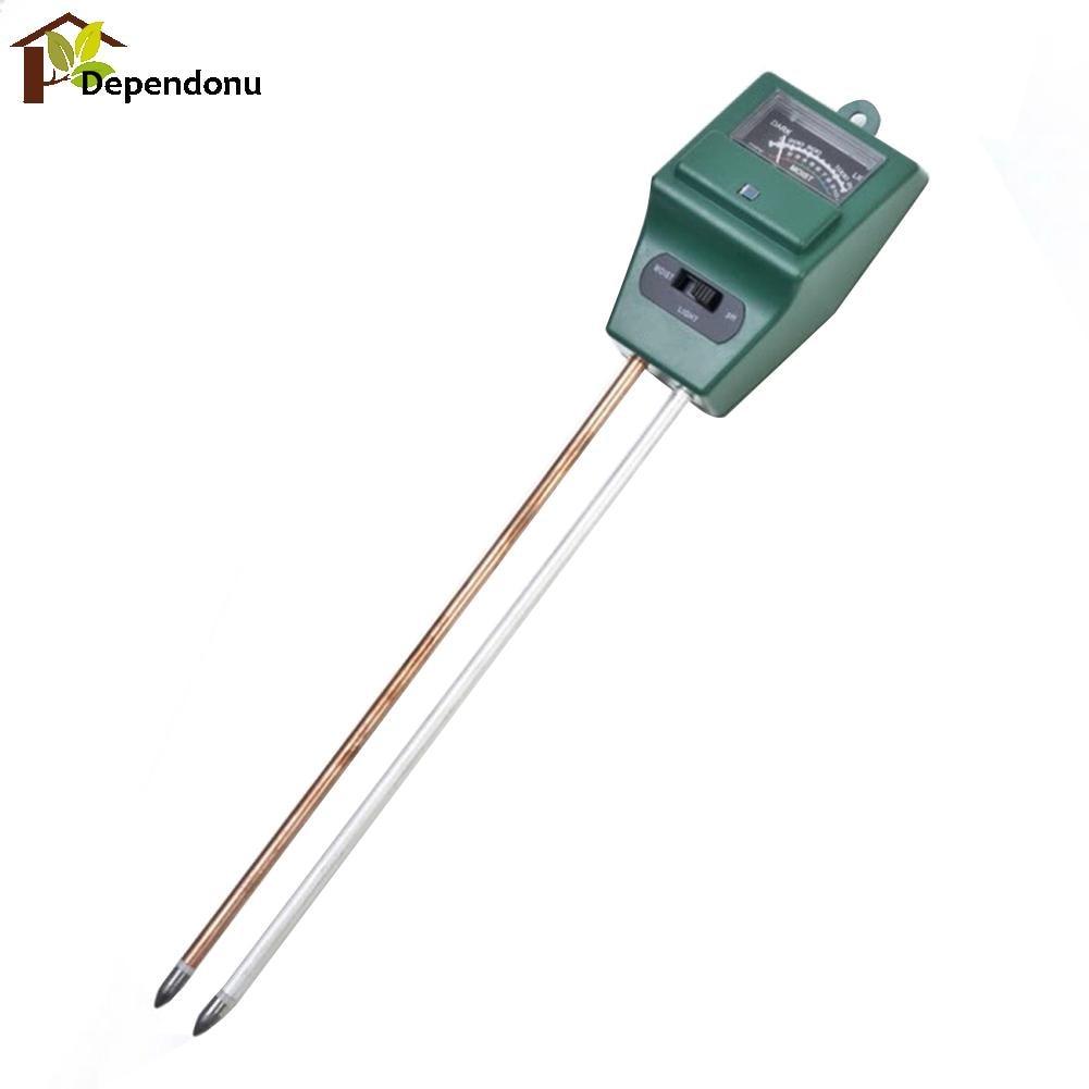 Misuratore di pH digitale 3 in1 Misuratore di umidità per acqua di - Strumenti di misura - Fotografia 2