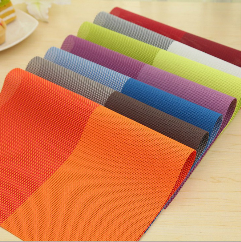 1pcs table mats placemat decoration pvc kitchen table mats dinning waterproof table cloth free shipping 5zcf011 - Kitchen Table Mats