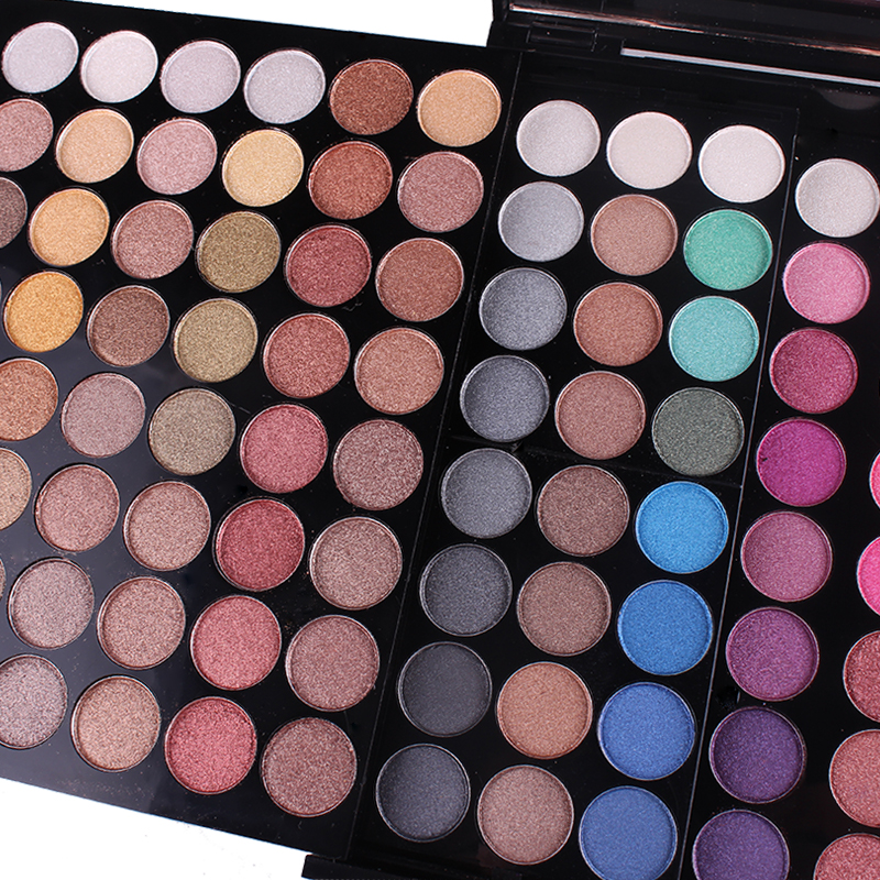 180 cores completo pro conjunto matte shimmer blush em pó novo
