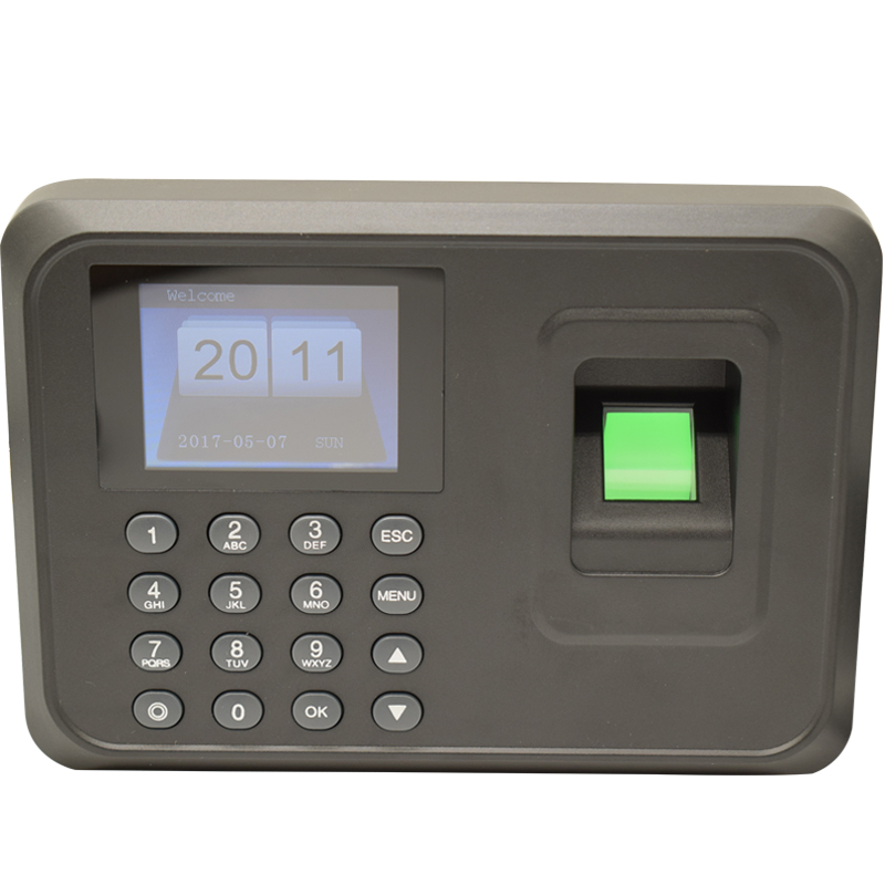 Hotsale 1000users 2.4 inch TFT Screen fingerprint time attendance Employee Biometric Time Recorder With Usb Free Software biometric face and fingerprint access controller tcp ip zk multibio700 facial time attendance and door security control system