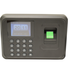 Hotsale 1000users 2.4 inch TFT Screen fingerprint time attendance Employee Biometric Time Recorder With Usb Free Software