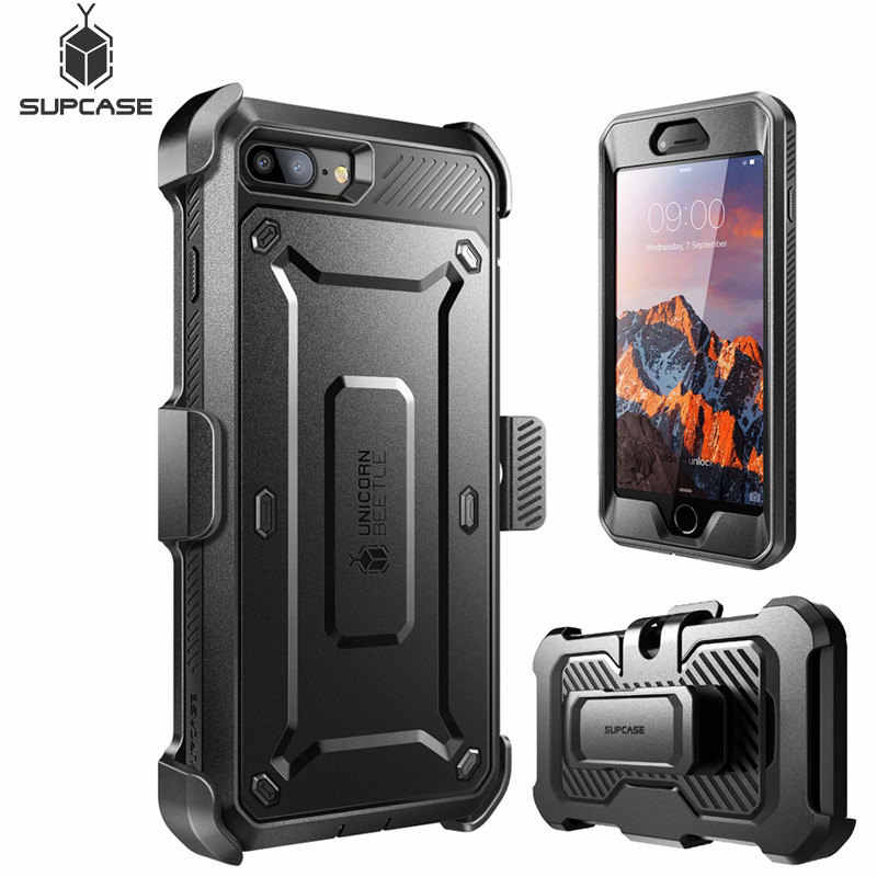 For iphone 5 5s SE/SE 2020/6 6S/6 6S Plus/7 8/7 8 Plus/X XS Case UB Pro Full-Body Rugged Case with Built-in Screen Protector