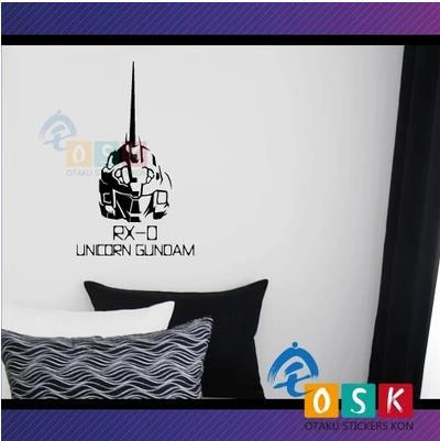 Pegatina Anime Cartoon Car Sticker SEED UNICORN GUNDAM Vinyl Wall Stickers Decal Decor Home Decoration