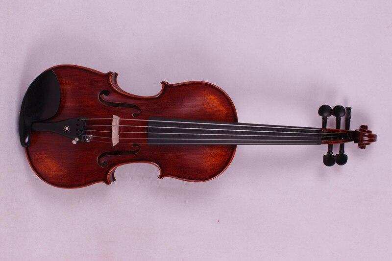 5 string 4/4 Violin Ebony parts Flame Maple Back Antique Varnish Spruce Master Powerful Sound Pro+502# 2 pcs new 4 4 unfinished violin flame maple back russian spruce top