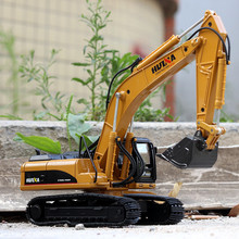 Ant 1:50 Childrens gift toy gold excavator alloy engineering car model simulation childrens decoration