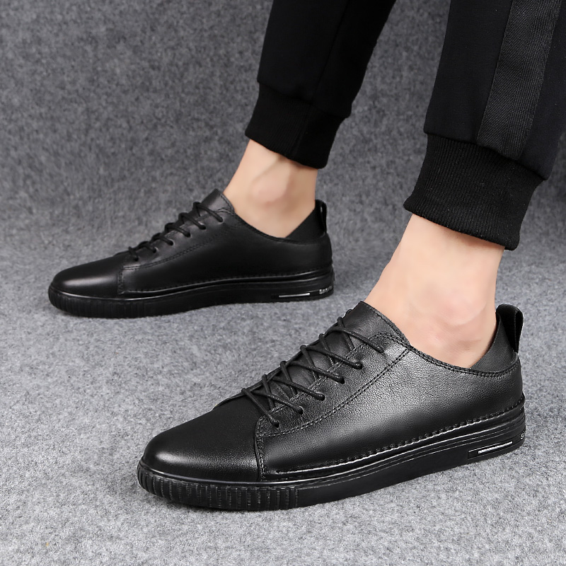 Big size outdoor Fashion Genuine Leather Men Casual Shoes All season New Breathable Men's Handmade Flats Men loafers Shoes w4 genuine leather men casual shoes handmade classic fashion male flats outdoor shoes men designer breathable footwear