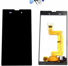 100% Original For Sony Xperia T3 M50w D5102 LCD Screen Display with Touch Screen Digitizer Assembly Black/white Free Shipping