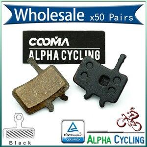 Pastiglie dei freni a disco bicicleta per avid bb7, tutti i Modelli Juicy 3 5 7 Ultimate Freno A Disco, 50, RESINA Nera, BP002